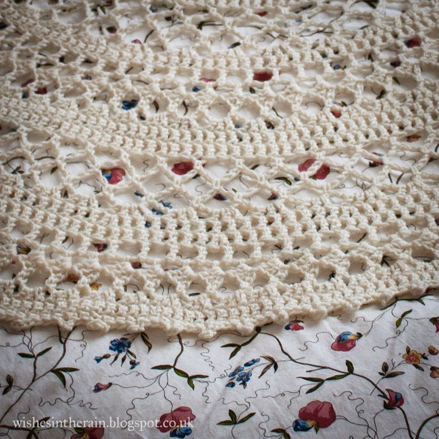 crochet lace picot edging