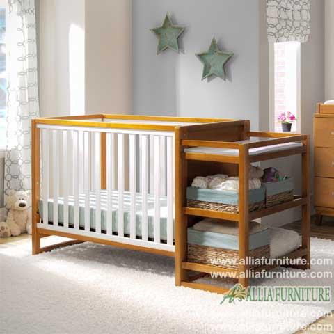 tempat tidur balita bayi model lionel