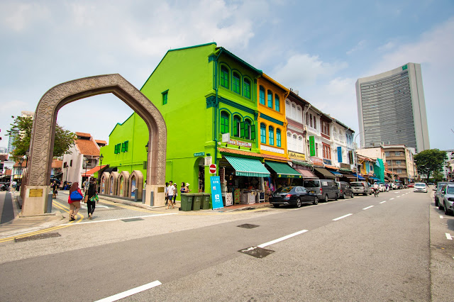 Arab street-Quartiere arabo-Singapore