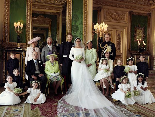 Oficjalne zdjęcia ze ślubu księcia Harry'ego i Meghan!