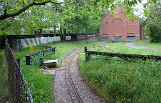 Eaton Park Miniature Railway in Norwich