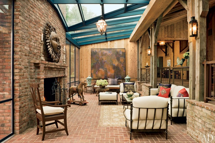 New Home Interior Design: Barn-Style Houses