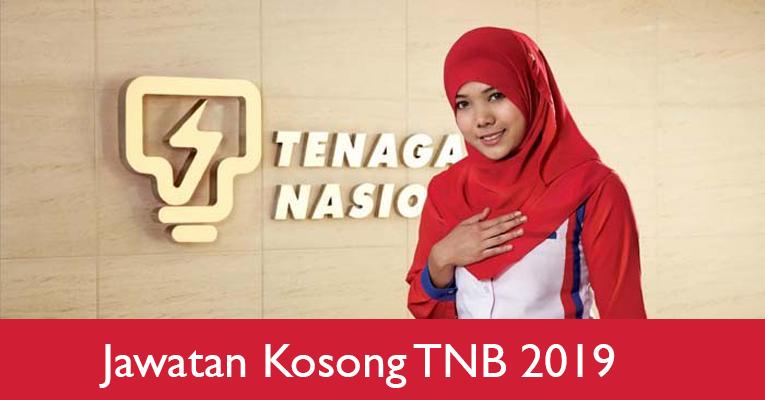 Jawatan Kosong di Tenaga Nasional Berhad TNB 2019
