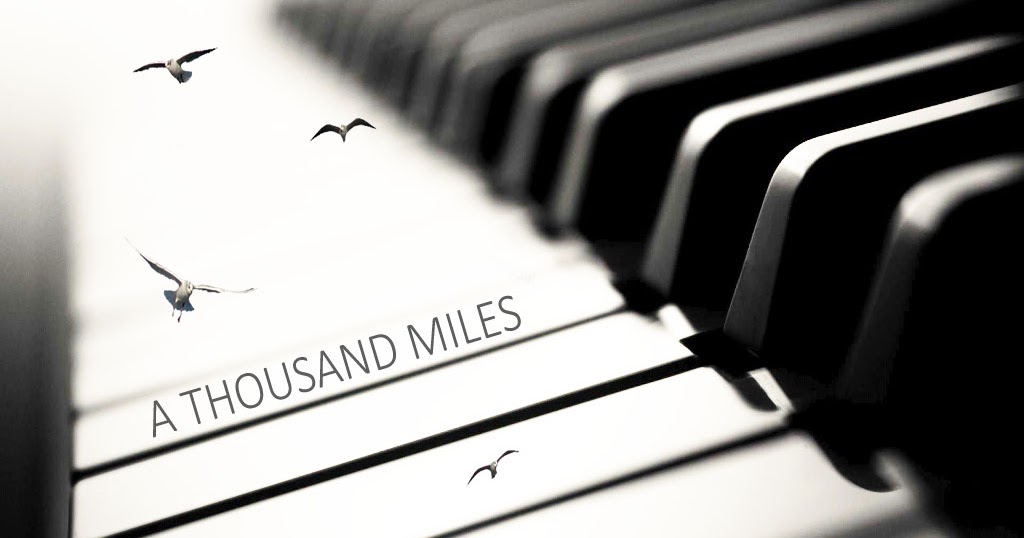 A Thousand Miles Vanessa Carlton Music Letter Notation With