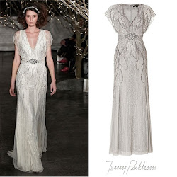 Princess Victoria Style JENNY PACKHAM Dress - YSL Sandals