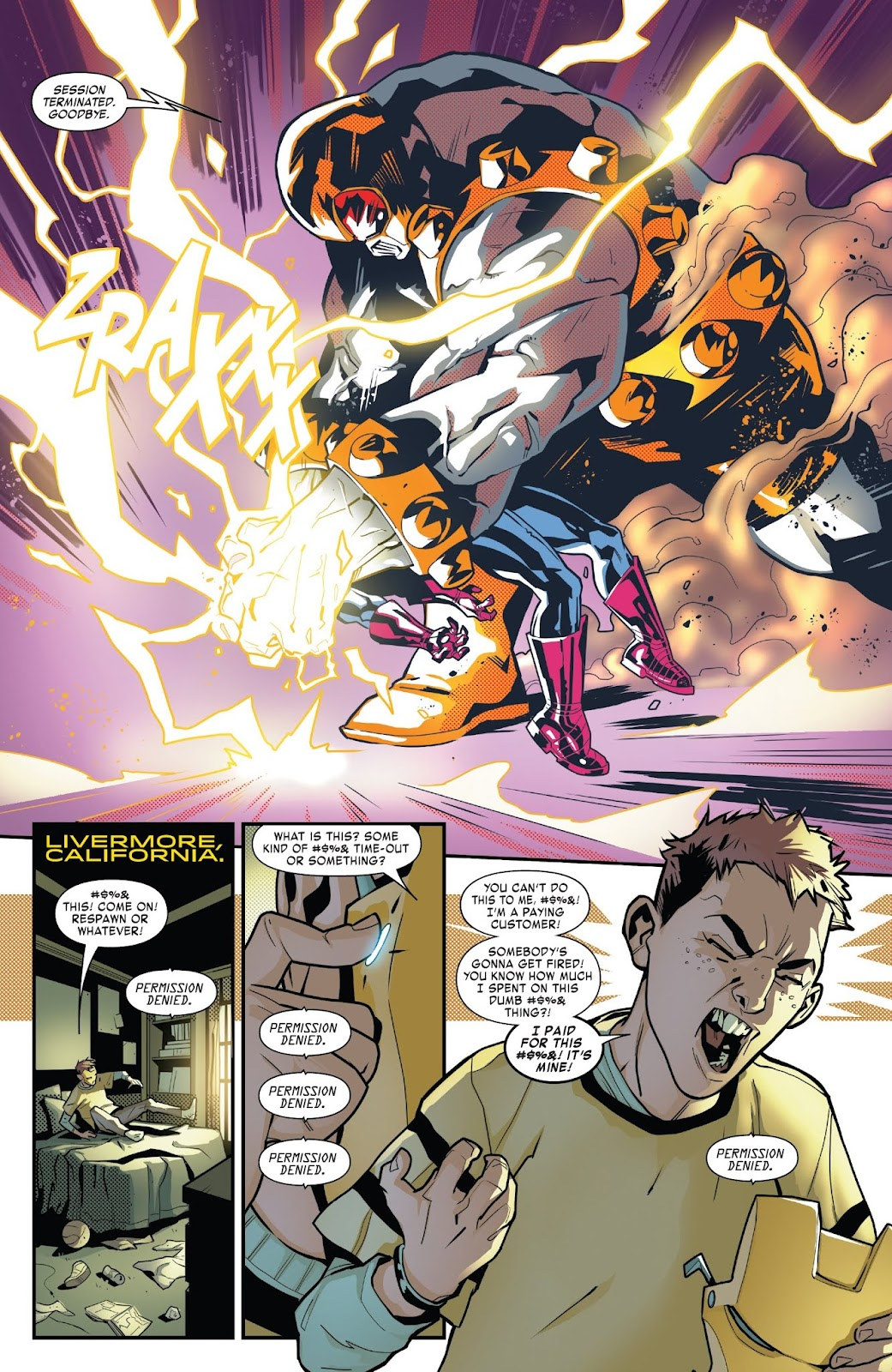 Read online Tony Stark: Iron Man comic -  Issue #6 - 10