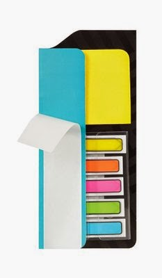post it notebook organizer