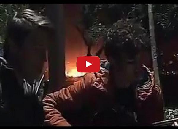 Jóvenes grabron por casualidad explosión de Estambul