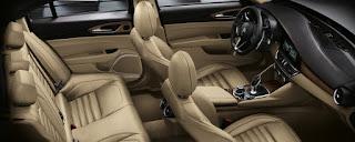 Alfa Romeo Giulia sedili in pelle beige