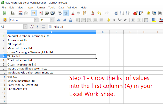 how to add single quotes in excel on each values