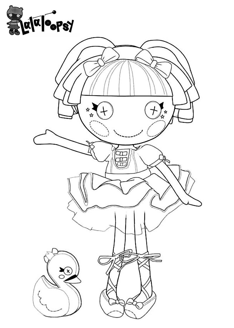 desenhos de lalaloopsy dolls para colorir pintar