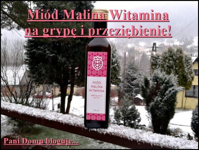 Miód malina witamina, syrop, malinowy, witamina c, zdrowie, na grypę, na przeziębienie, recenzja, blog, naturalny