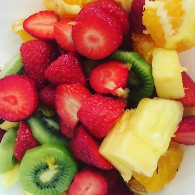fruta sana,
