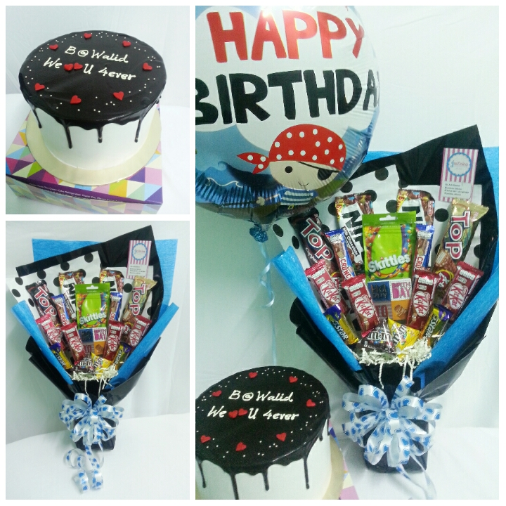 Lovely Cakes: Surprise Birthday Delivery Ke Parit Raja