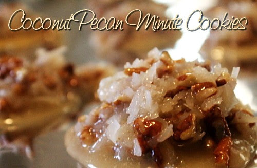 RECIPE: Coconut Pecan Minute Cookies