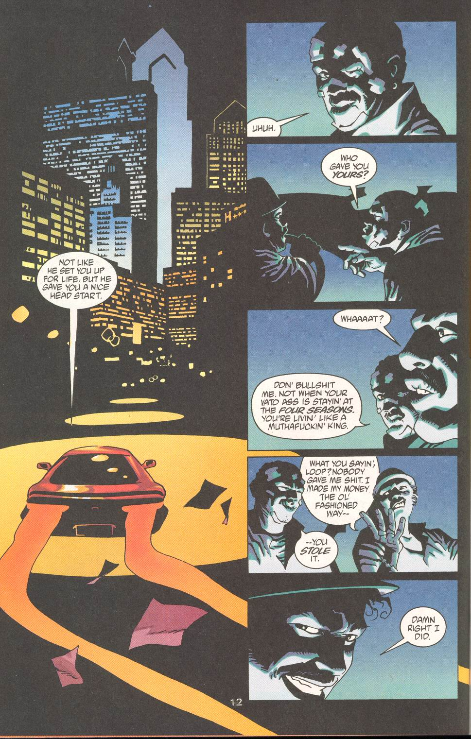 Read online 100 Bullets comic -  Issue #19 - 14
