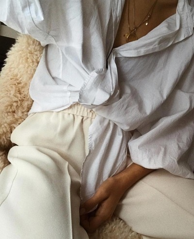 White Blouse Is Everything You Need This Spring
