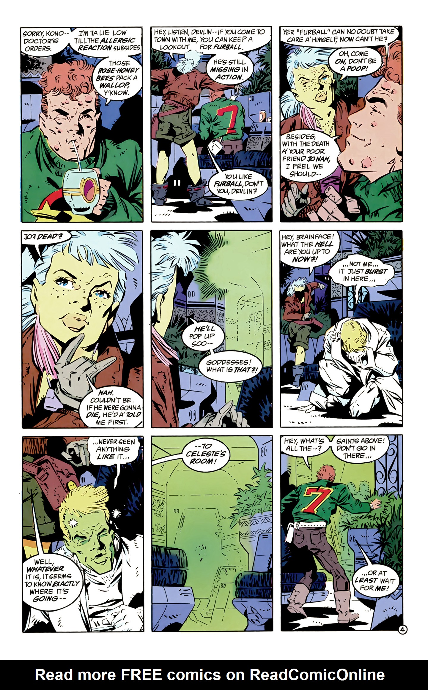 Legion of Super-Heroes (1989) 12 Page 4