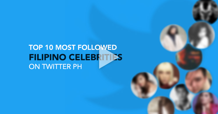 Most followed Filipino Celebrities on Twitter