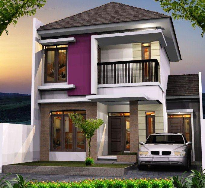 50  rumah minimalis 1 lantai \u0026 2 lantai tampak depan   samping belakang