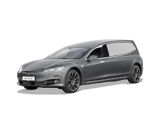 Corbillard électrique Mercedes