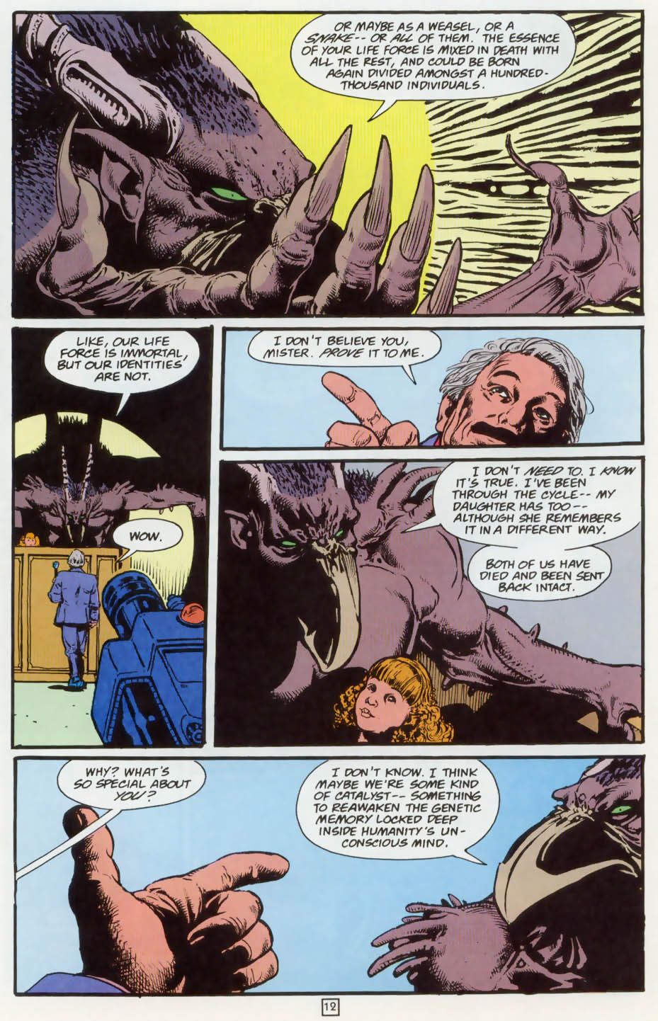 Read online Animal Man (1988) comic -  Issue #73 - 13