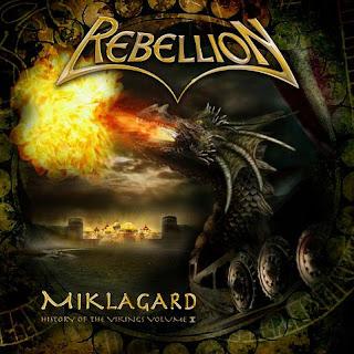 """Ακούστε τον δίσκο των Rebellion """"Miklagard"""""""