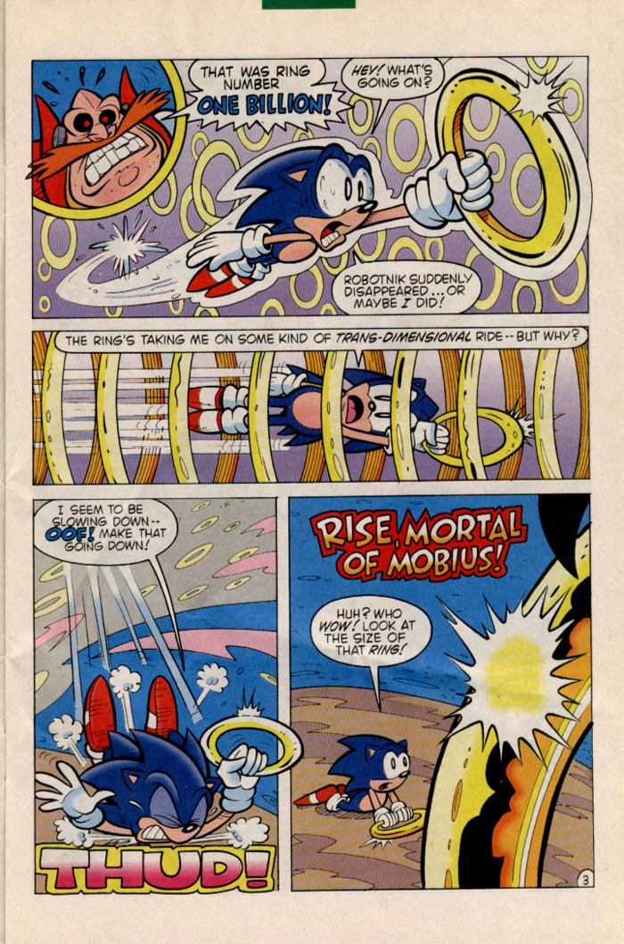 Read online Sonic The Hedgehog comic -  Issue #35 - 4