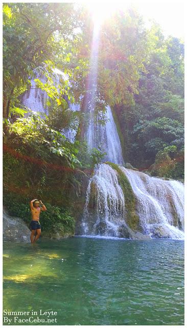 Karap-agan Falls in Bgy. Mahayahay, Matalom, Leyte