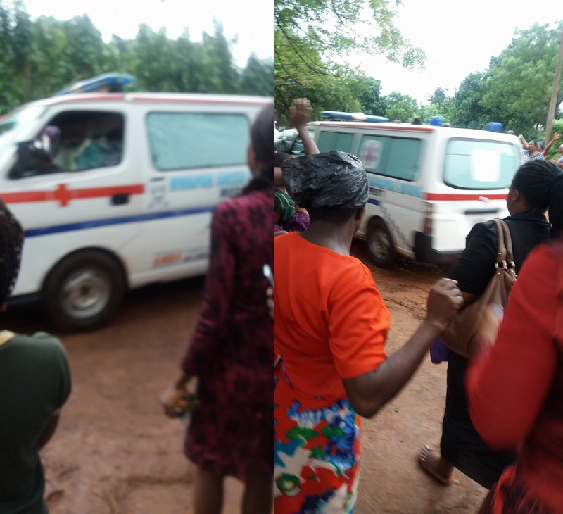 Somtoo Okoye Exclusive: Falling tree traps couple inside car in Anambra