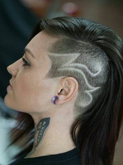 cortes pelo rapado 2017 lateral tattoo