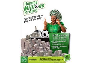 Glo Hamma Million promo