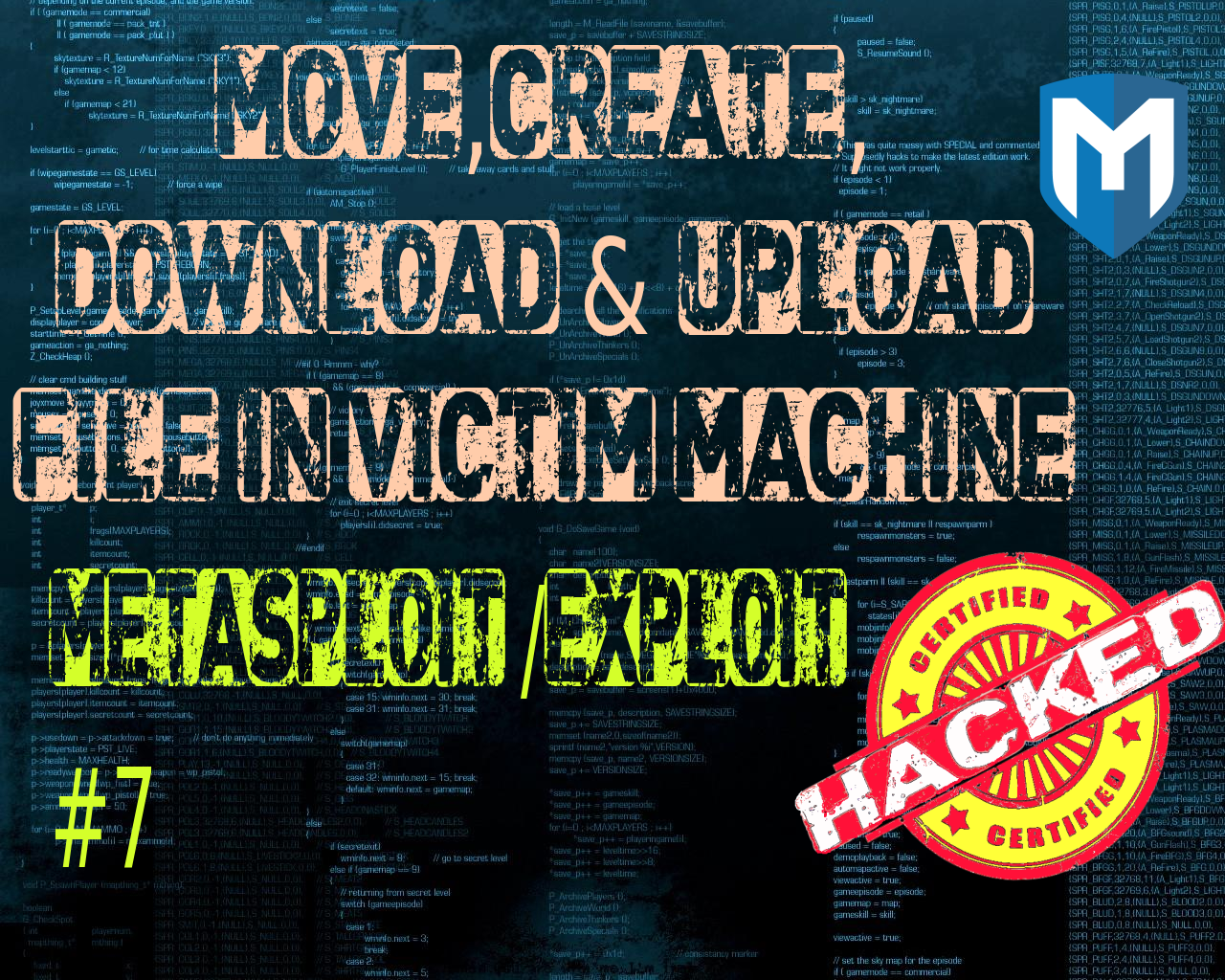 Metasploit/Exploit#7 : How to move around,create folders,download