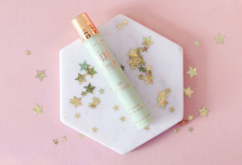 Pixi Beauty 24k eye elixir blog review