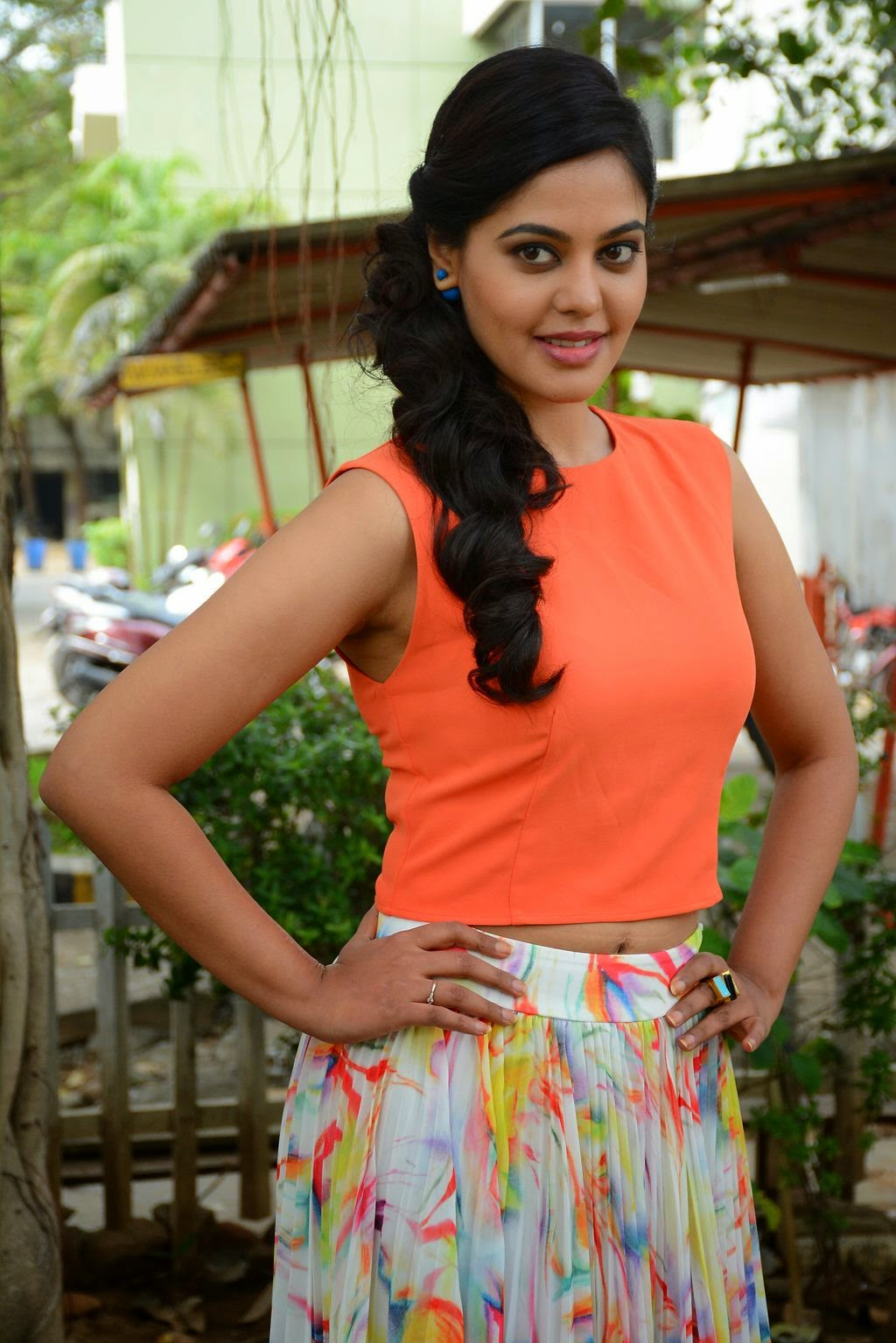 Actress Bindu Madhavi Latest Cute Hot Spicy Photos Gallery At Tamizhukku En Ondrai Azhuthavum Press Meet
