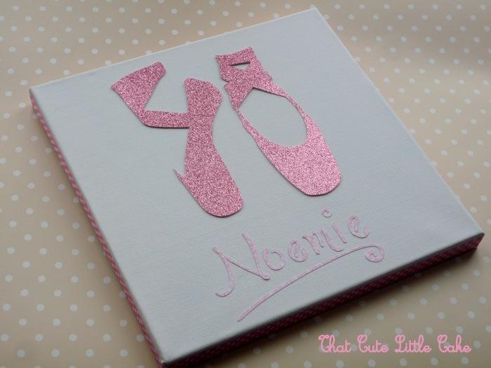 that cute little cake craft ballerina frame