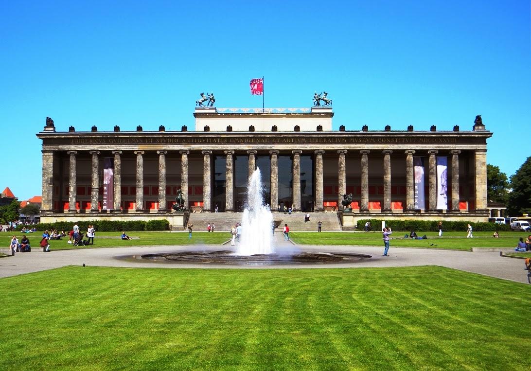 Altes Museum Berlim Ilha