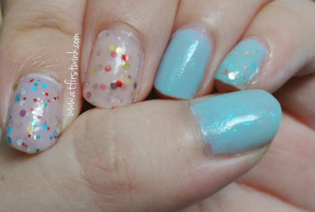 Tony Moly glitter yogurt nails