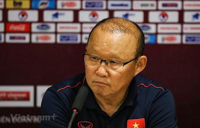 HLV Park Hang-seo tự tin trước trận đấu với ĐT Thái Lan.