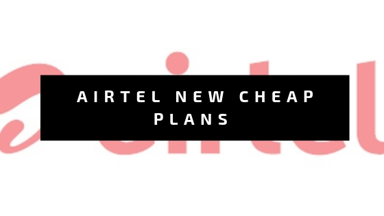 Airtel Brings New Cheap Rate 98/- and 48/- Rupees plans for there Users