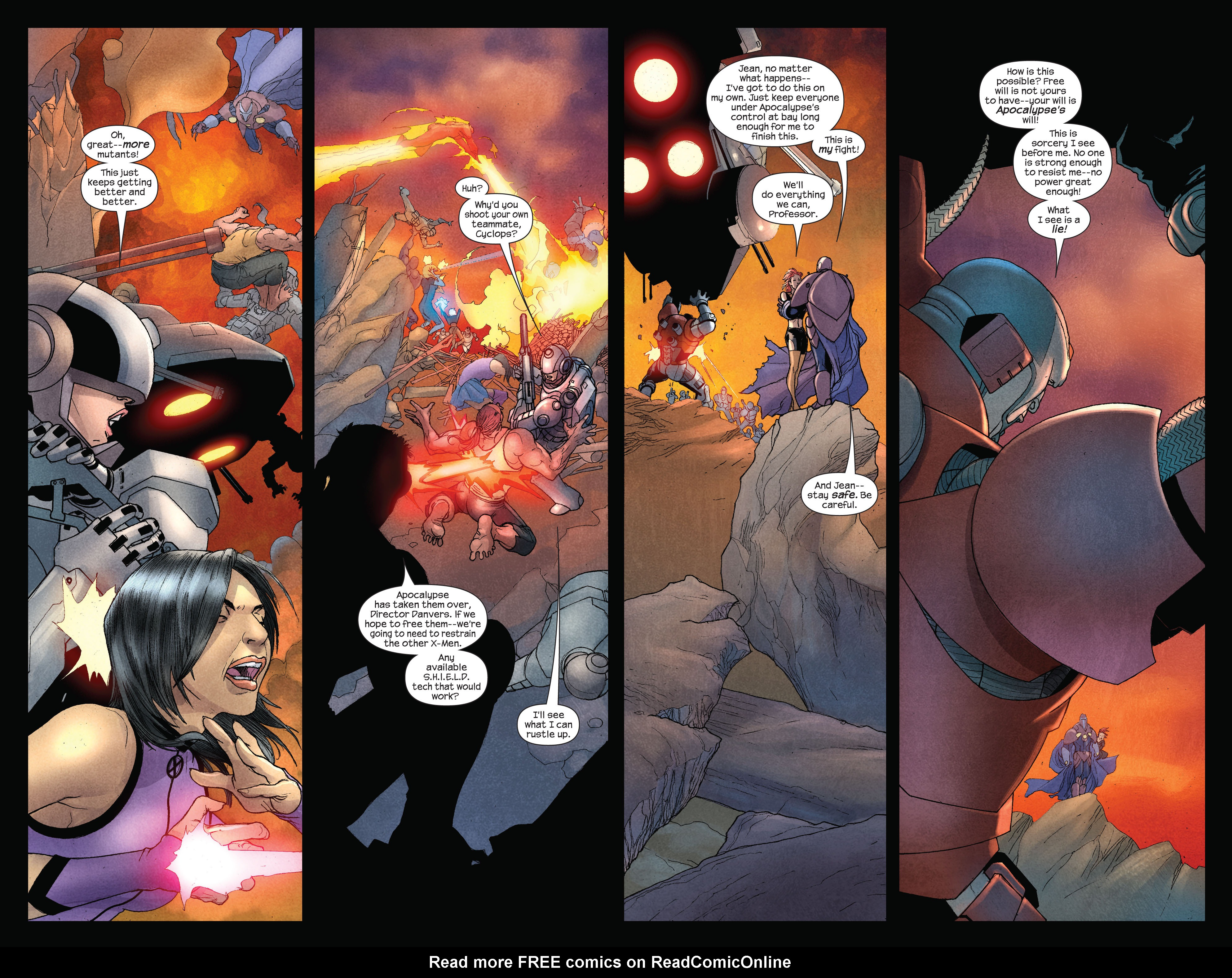 Read online Ultimate X-Men comic -  Issue #92 - 7