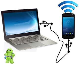 Menjadikan hp xiaomi sebagai modem internet komputer pc atau laptop melalui usb