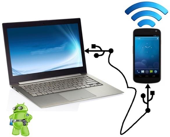 Cara Mengakibatkan Hp Xiaomi Sebagai Modem Internet Via Usb / Kabel Data