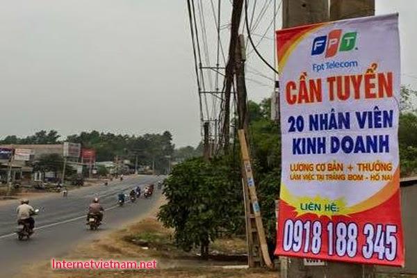 Công Ty FPT Telecom Chi Nhánh Đồng Nai Tuyển Dụng