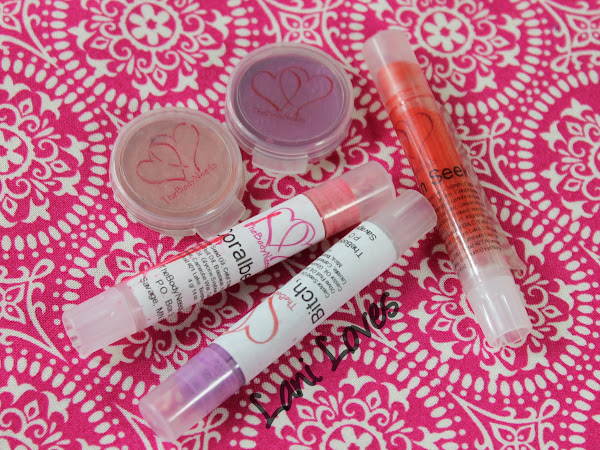 TheBodyNeeds Lip Lustre - Bitch, Please!, Coralberry, Hide 'N Seek, Forget Him! and Cupid's Crush Swatches & Review