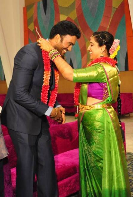 Actor Shiva Wedding Reception Gallery 11