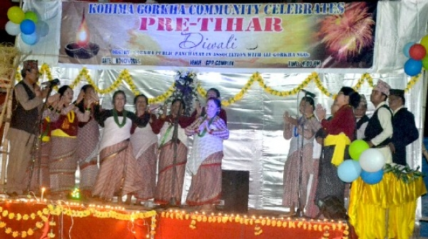 Kohima Gorkha community celebrated pre-Tihar (Diwali)