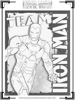 captain america civil war iron man team