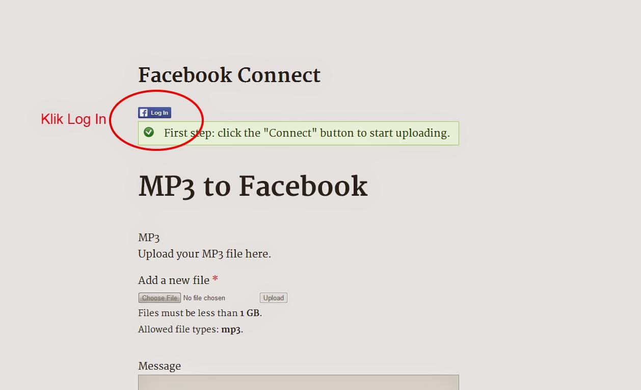 cara memasang musik file mp3 di facebook via mp3 to facebook net cara cara dan solusi. Black Bedroom Furniture Sets. Home Design Ideas