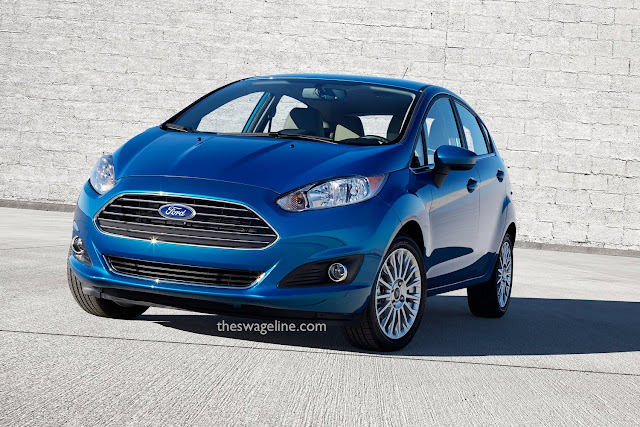 Ford Fiesta with new badge location